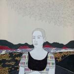 IRENE BALIA - Senza titolo, 2012, olio e grafite su tela, 30x40cm