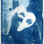 Ofri Cnaani, Blu Print, 2012, Cyanotype, 28x38 cm