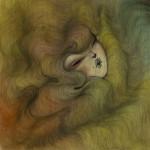 Rainbowhair-1_40x40-cm_acrylic-on-wood-r