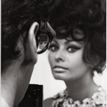 Tazio Secchiaroli_Sophia Loren con Richard Avedon_1966