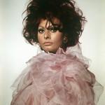 Tazio Secchiaroli_Sophia Loren rosa INEDITA