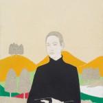 01 Irene Balia, Senza titolo, 2012, olio e grafite su tela, 70x50cm