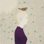04 Irene Balia, Senza titolo, 2012, olio e grafite su tela, 40x40 cm