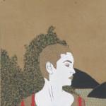 09 Irene Balia, Senza titolo, 2012, acrilico e grafite su carta, 30x21cm