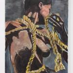 BOB DYLAN_Rope_2008-2011_121.9 x 91.4 cm