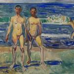 Edvard Munch Maenner am Meer