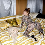 Terry Richardson - Lady Gaga and Fozzi Bear after the show - www.terrysdiary.com