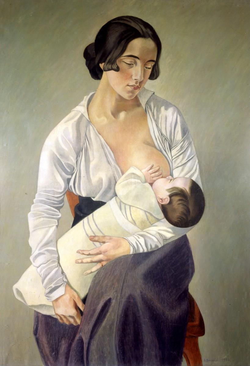 gino severini madre