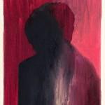 Gianni Politi_Pensare il blu sotto forma di canzone_olio su tela_24x18cm