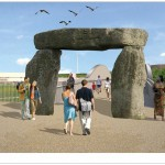 Jeremy Deller proposal for the olympic park gateways
