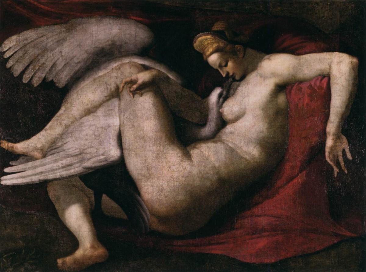 Michelangelo_Buonarroti Leda