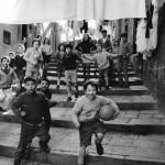 Pepi Merisio, Rione Stella a Napoli, 1983, Stampa ai sali d'argento vintage print, cm 30 x 40