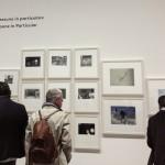 Luigi Ghirri, veduta d'insieme dell'installazione (particolare), foto Lavinia Collodel