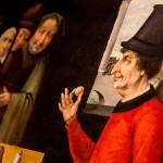 00 Scuola di Hieronymus Bosch, Il Ciarlatano, dettaglio.