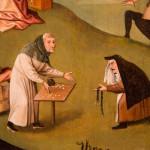 Hieronymus Bosch, I sette peccati capitali,  dettaglio