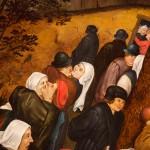 Pieter Brueghel il Giovane, Danza nuziale all'aperto, dettaglio.