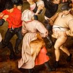 Pieter Brueghel il Giovane, Danza nuziale all'aperto, dettaglio
