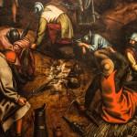 Pieter Brueghel il Vecchio, e bottega, La Resurrezione, dettaglio