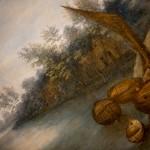 Jan Brueghel il Giovane, Paesaggio fluviale con contadini, dettaglio