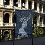 DIAMOND_Cupio Dissolvi,  Poster nei pressi del Colosseo