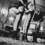Helmut Newton - Two pairs of legs