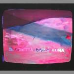 Mario+Schifano,+Televisore+197-74,+Smalto+su+tela+emulsionata,+84+x+115+cm