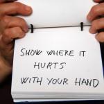 Mladen Miljanovi? Show Where it Hurts With Your Hand, 2012