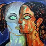 Mostra Amanda Lear - Visioni - Milano Art Gallery - Agenzia Promoter (1
