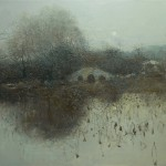 °_Jiangnan night rhyme°.oil on canvas 105°¡85cm 2013