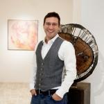 Il gallerista Cristian Porretta