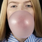 Biennale-d-art-contemporain-2013-Louise-blowing-a-bubble