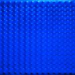 3_Enrico Castellani, Superificie blu, 1965, acrilico su tela, 120 x 150 cm