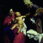 inv 5006 dia pmr 196830    carlo saraceni   madonna col bambino  e santa anna