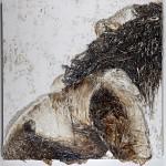 14-121-Corpo e Terra -21-2013 tecnica mista 180x180 cm