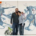 Franco Losvizzero e Veronica Montanino, artisti in comunione al MAAM.