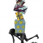 xmas art: Yinka Shonibare's Christmas card