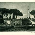 3 - Riccardo Peretti Griva, Ostia, scavi archeologici, 1949