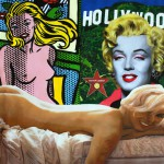 Kufman_Hollywood, Nude Marilyn, Lichtenstein Icons 46 x 40 EB 2007 - Copia