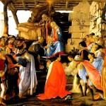 Pico Botticelli adorazione di Magi