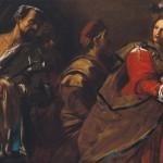 MAESTRO DELL'INCREDULITÀ DI SAN TOMMASO (Jean Ducamps?) Salomè riceve la testa del Battista
