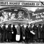 Margaret Bourke White, At the time the louisville flood,1937, 24x30 cm
