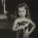 Sally Mann, Holding the weasel, 1996, 60x80