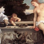 Amor sacro e amor profano, Tiziano