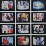 Vanessa Beecroft, VB1, 1993, installazione di n°20 Photocolor, 30x23.5 cm
