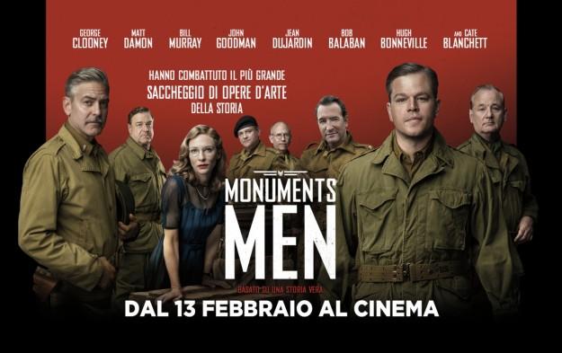 il-cast-stellare-di-monuments-men