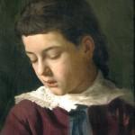 Gustav Klimt Ritratto di bambina 1880