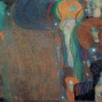 Gustav Klimt Fuochi fatui 1903