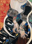 Gustav Klimt Salomè 1909