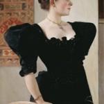 Gustav Klimt Ritratto femminile 1894 circa