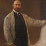 Franz Matsch Autoritratto 1904